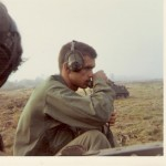 Capt. David R. Crocker, Jr in Vietnam, 1969