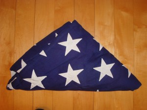 My Buddy's Hat (the flag in repose)