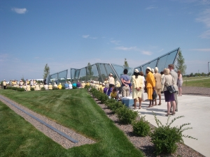 Gold Star Wives gather at Colorado Freedom Memorial