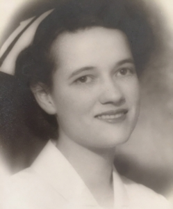 My mother, Estella Whipple, 1943